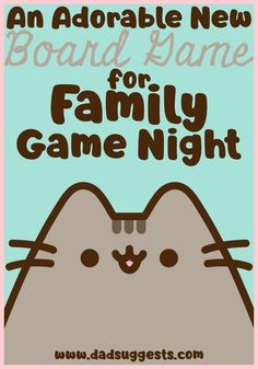 Pusheen the Cat: Purrfect Pick Card Game from Ravensburger is our game of the month for April. Not only is it aesthetically cute and adorable, but it's a great family board game that's fun and engaging for the entire family. #pusheen #ravensburger #familygamenight #kidsgames #familyboardgames #kidsboardgames #familygames #boardgames #dadsuggests Family Fun Games, Board Games For Kids, Family Board Games, Family Game Night, Games To Play, Line Game, Go Game, Play Game Online, Classic Board Games