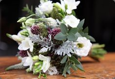 Check out the matching boutonniere to this bouquet as well!