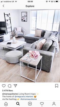1085 besten wohnzimmer skandinavisch bilder auf pinterest in 2018 wohn esszimmer wohnzimmer. Black Bedroom Furniture Sets. Home Design Ideas