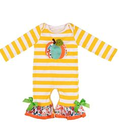 Overall adorable romper outfits for 0-4 years newborn toddler baby girls, cute floral, reindeer and turkey cartoon printed bodysuit pajamas, fashion girls icing ruffle pants jumpsuit homewear, festival and beautiful pattern, suitable for Christmas, Thanksgiving Day, birthday, casual and photo shoot Buy Halloween Costumes, Halloween Outfits, Halloween Clothes, Baby Halloween, Baby Girl Fall Outfits, Kids Outfits, Smocked Baby Dresses, Baby Girl One Pieces, Baby Boutique Clothing