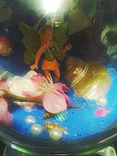 Fairy in jar