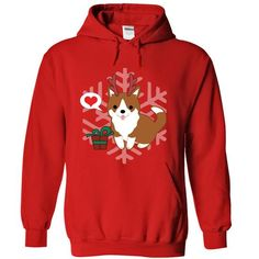 Corgi christmas awesome 2 - #girl tee #sweater hoodie. WANT THIS => https://www.sunfrog.com/Pets/Corgi-christmas-awesome-2-Red-10552059-Hoodie.html?68278