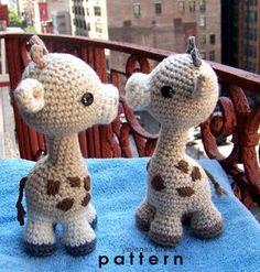 Bébé girafe-Instant Download Crochet Pattern-jouet girafe-Amigurumi girafe-bricolage Crochet jouet jouet en peluche Animal-petite girafe