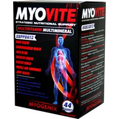Myogenix MyoVite 44 pk | Regular Price: $54.95, Sale Price: TOO LOW TO SHOW! | OvernightSupplements.com | #onSale #supplements #specials #Myogenix #VitaminsandMinerals  | MYOVITE was formulated for athletes and health enthusiasts to help eliminate nutritional gaps in their diet and supplement regimen More than just a MultiVitamin MultiMineral formula MYOVITE come complete with Performance Optimizers Join Support Liver Supports Cardiovascular Support Organic Green Food Nutrien