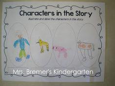 Mrs. Wishy-Washy book study {by Anita Bremer}
