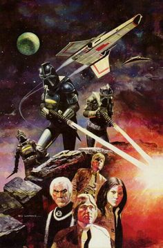 Battlestar Galactica by artist Don Lawrence