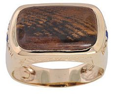 #Overstock                #ring                     #Michael #Valitutti #Gold #Petrified #Wood #Diamond #Men's #Ring #Overstock.com                         Michael Valitutti 14k Gold Petrified Wood and Diamond Men's Ring | Overstock.com                                                  http://www.seapai.com/product.aspx?PID=1769380