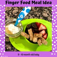 Babies Eating at 10 Months - Lessons By The Lake 10 Months Baby Food, 10 Month Old Baby Food, Pureed Food Recipes, Baby Food Recipes, Baby Snacks, Baby Meals, Healthy Baby Food, Food Baby, Baby Meal Plan
