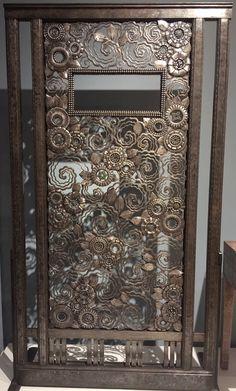 Persia Door (1923) by Edgar Brandt (French) Cooper Hewitt, Smithsonian Design Museum May 2017