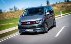 Download wallpapers ABT, tuning, Volkswagen Multivan, 4k, T6, road, Multivan, VW, Volkswagen
