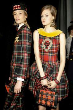 Moschino Fall/Winter 13-14 fashion show