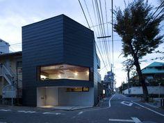 House in Sakuragawa, Tokyo by Suppose Design Office