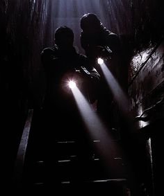 """""""Brian? Are you down here?"""" Jahmil shouted as I held out my gun. There was a faint groan and I ran down the stairs. There he was, sitting on the floor, tied to the wall. He was sitting, unconscious, in a pool of blood. """"Brian!"""""""