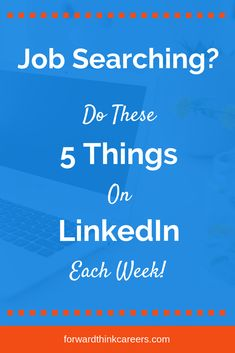 LinkedIn can be a powerful job search tool. So take these 5 weekly actions to stand out to employers and get hired fast. Job Career, Career Planning, Career Advice, Career Change, Career Quiz, Career Success, Job Search Websites, Job Search Tips, Search Tool