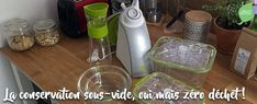 Le Be Save, ou comment organiser ses repas ? Conservation, Slow, Organiser, Bottle, Glass Containers, Large Fridge Freezer, Vegan Lifestyle, Flask