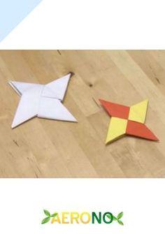 Faire un shuriken en papier (étoile ninja origami) - Activités pour enfants