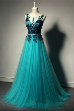 Evening Dresses, Party for Wedding A Line Formal Evening Gowns Dresse #weddinggowns