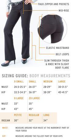 ca2c9b623e9 Boot-Cut work appropriate Dress Pants Yoga Pants spec image Stretch Dress  Pants