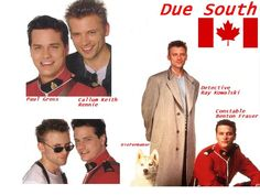 Due South! Ray and Benton!and Dief! Due South, True Gentleman, Every Girl, Movies And Tv Shows, Acting, Film, Movie, Film Stock, Cinema