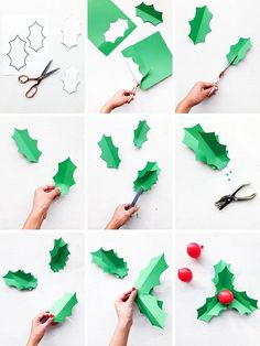 Holly Balloon Gift Toppers (Oh Happy Day! Christmas Paper Crafts, Christmas Activities, Kids Christmas, Office Christmas Decorations, Christmas Backdrops, Christmas Photo Booth Props, Christmas Balloons, Christmas Ornaments, Balloon Gift