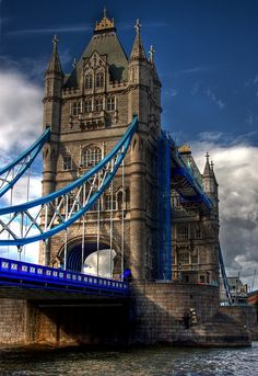 This is one of the most beautiful structures.  So glad I got to tour it. Tower Bridge