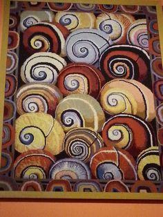 Shells tapestry, Fassett