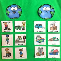 FREE Earth Day tracing sheets including pictures and words that kids can trace. Perfect for preschool or kindergarten Earth Day activity. Letter E Activities, Earth Day Activities, Sorting Activities, Preschool Themes, Preschool Science, Toddler Preschool, Preschool Activities, Preschool Kindergarten, Recycling