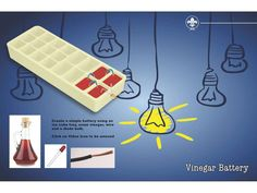 JOTA JOTI Games 12 Vinegar Battery - Created on Tactilize Vinegar, Challenges, Games, Create, Ideas, Gaming, Thoughts, Plays, Game