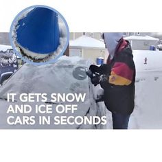 Auto Car Magic Window Windshield Car Ice Scraper Shaped Funnel Snow Remover Deicer Cone Deicing Tool Scraping ONE Round Washer Fluid, Ice Scraper, Car Buying Tips, Car Trunk, Snow And Ice, Ali Express, Cool Tools, Shovel, How To Remove