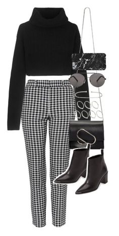 """""""thrifting"""" by xbbglyssax ❤ liked on Polyvore featuring Topshop, Valentino, 3.1 Phillip Lim, ASOS, Seafolly and Acne Studios"""