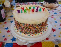 Checkerboard cake — Birthday Cakes
