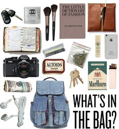 """What's In My Bag?"" by jessicaseales ❤ liked on Polyvore"