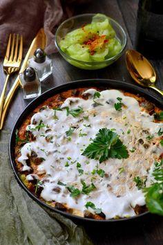Hungarian Recipes, Hungarian Food, Ciabatta, Palak Paneer, Risotto, Main Dishes, Bacon, Curry, Food And Drink