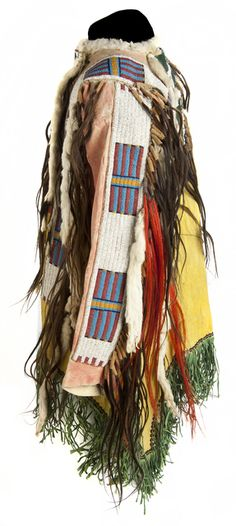 Рубаха Дакота, период 1870-1880 гг. Вид 2.