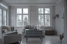 sohvapöytä Living Room, Room, Interior, House Inspiration, Home Decor, White Interior, Lounge Room, Tiny House Inspiration, Rustic House