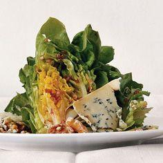 cool Boston Lettuce Wedges with Zinfandel Vinaigrette and Stilton from Epicurious.com...