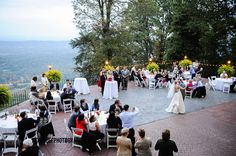 Wedding in the mountains. #Tennessee