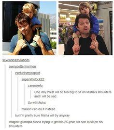 Misha and West Collins