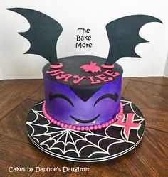 The Bake More - Easy Vampirina Cake