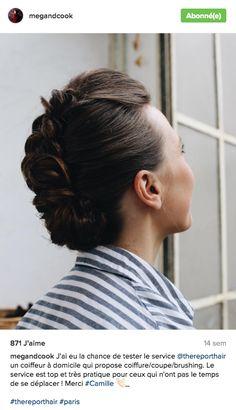 Coiffure cheveux longs Tresse iroquois