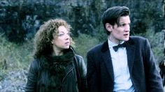 River and the Doctor's date goes awry in Neil Gaiman's minisode!  Yay for a new River & 11 moment!!!