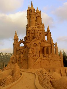 Sand castle at the beach in Haifa | Flickr - Photo Sharing!