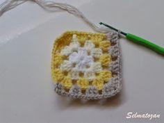 ELİMDEN GELENLER: İplik Koparmadan Motif Birleştirme Crochet Coat, Crochet Earrings, Elsa, Pattern, Crocheting, Patterns, Model, Swatch