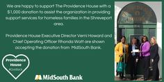 Providence House has worked for more than 28-years helping homeless families with children shed the bonds of extreme poverty and homelessness. Our holistic program initiates systemic change that transforms families and ultimately communities!