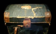 Trunk Recovered from Titanic The crew of the Mackay Bennett recovered this travel trunk from the Titanic's floating debris. In time the trunk found its way the the home of a New Brunswick minister. As oral history relates, this minister knew one of the clergy men on board the Mackay Bennett who was saying prayers over the recovered Titanic victims. This item is available for viewing at the Audio Video Showroom in Santa Rosa, CA.