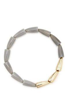 Vhernier - Calla Grey Agate Rose Gold Necklace (=)