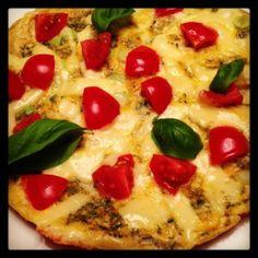 Rezept für ein Käse-Omelette | Low-Carb-Ernährung