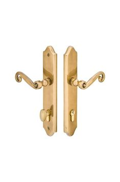 Emtek 1571 Patio Door Keyed Entry Multi Point Trim with European Cylinder and Co
