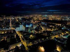 night,Gdynia, Poland