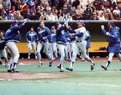 Rick Monday's dramatic ninth inning home run against the Montreal Expose during Game 5 of the 1981 NLDS